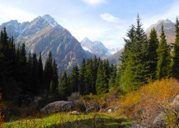 Bergen in Kirgizie